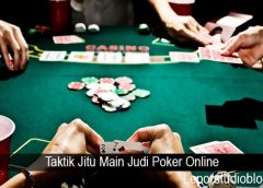 Taktik Jitu Main Judi Poker Online
